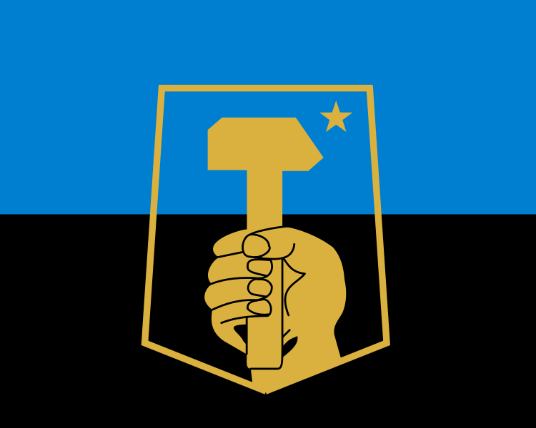 Flag of Donetsk